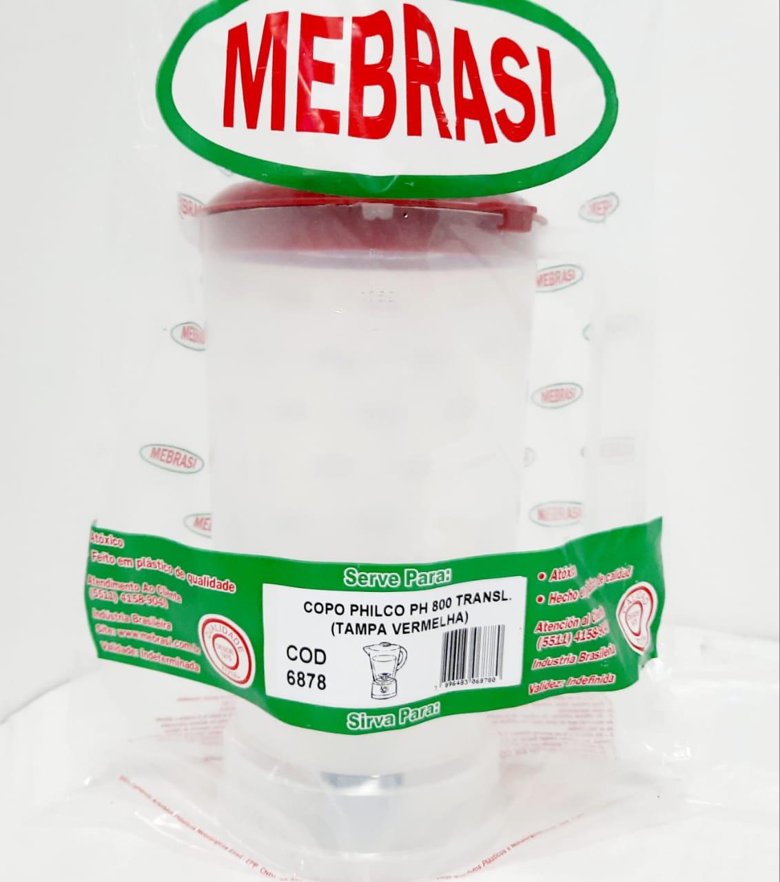 Copo Philco TRAN PH 800 VERM - Mebrasi