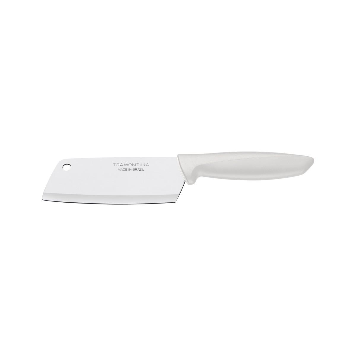 Cutelo Inox 5 Plenus Branco - cód 23430/135 Tramontina