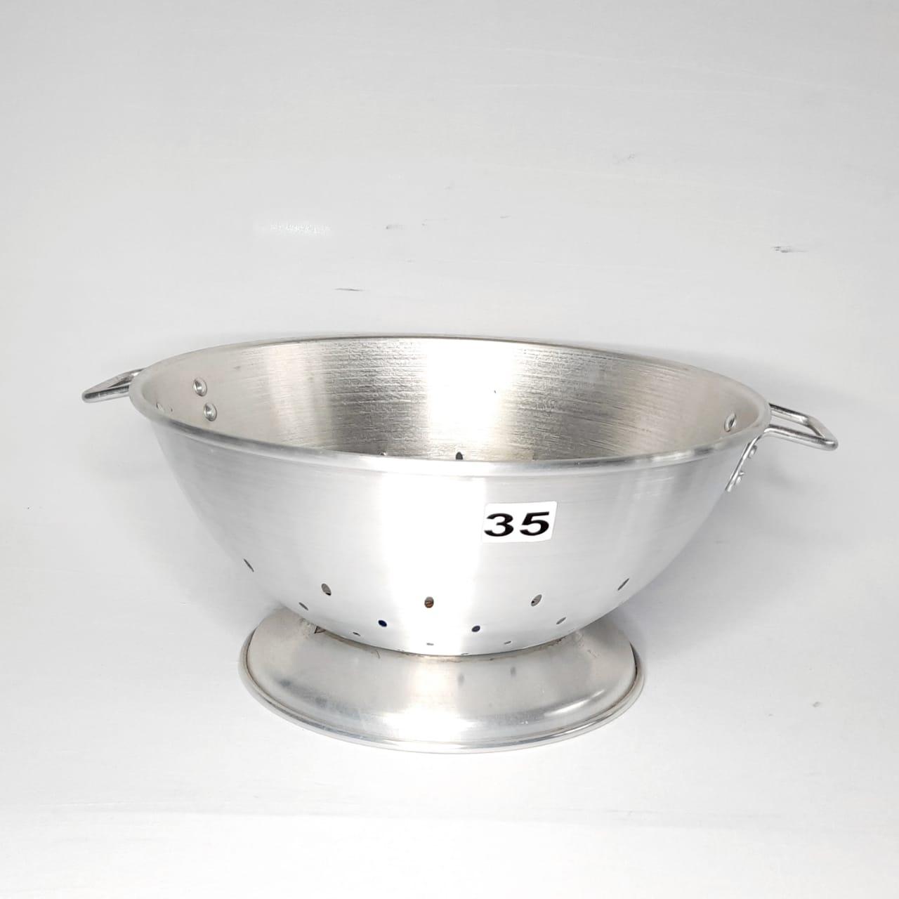 Escorredor Alumínio N 35 P/Massa Real