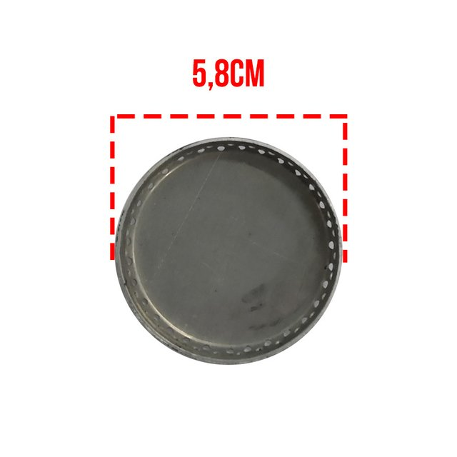 Espalhador Alumínio Consul 2 FUROS Pequeno