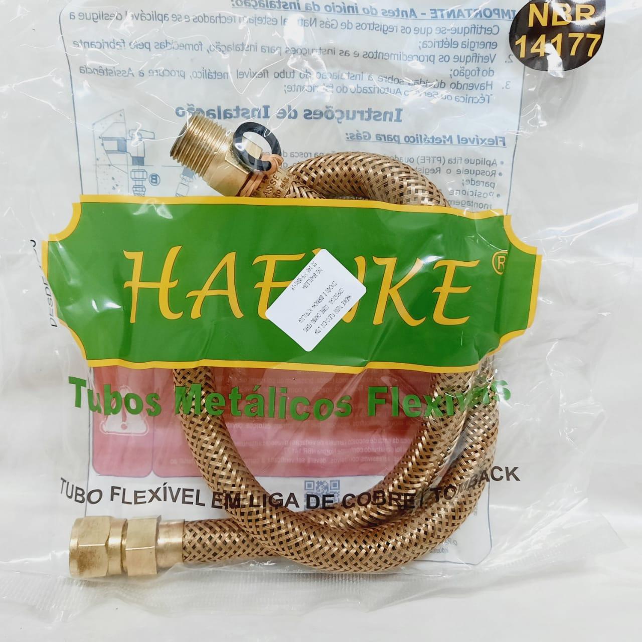 Flexível Tipo COMGÁS 1/2 800mm Haenke