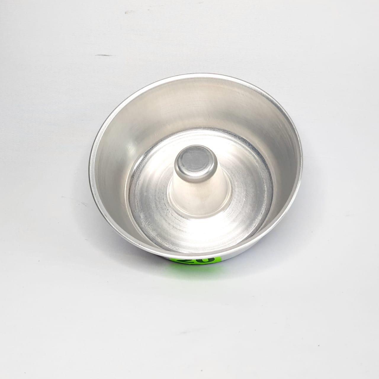 Forma Alumínio Bolo/Pudim N 20 Real