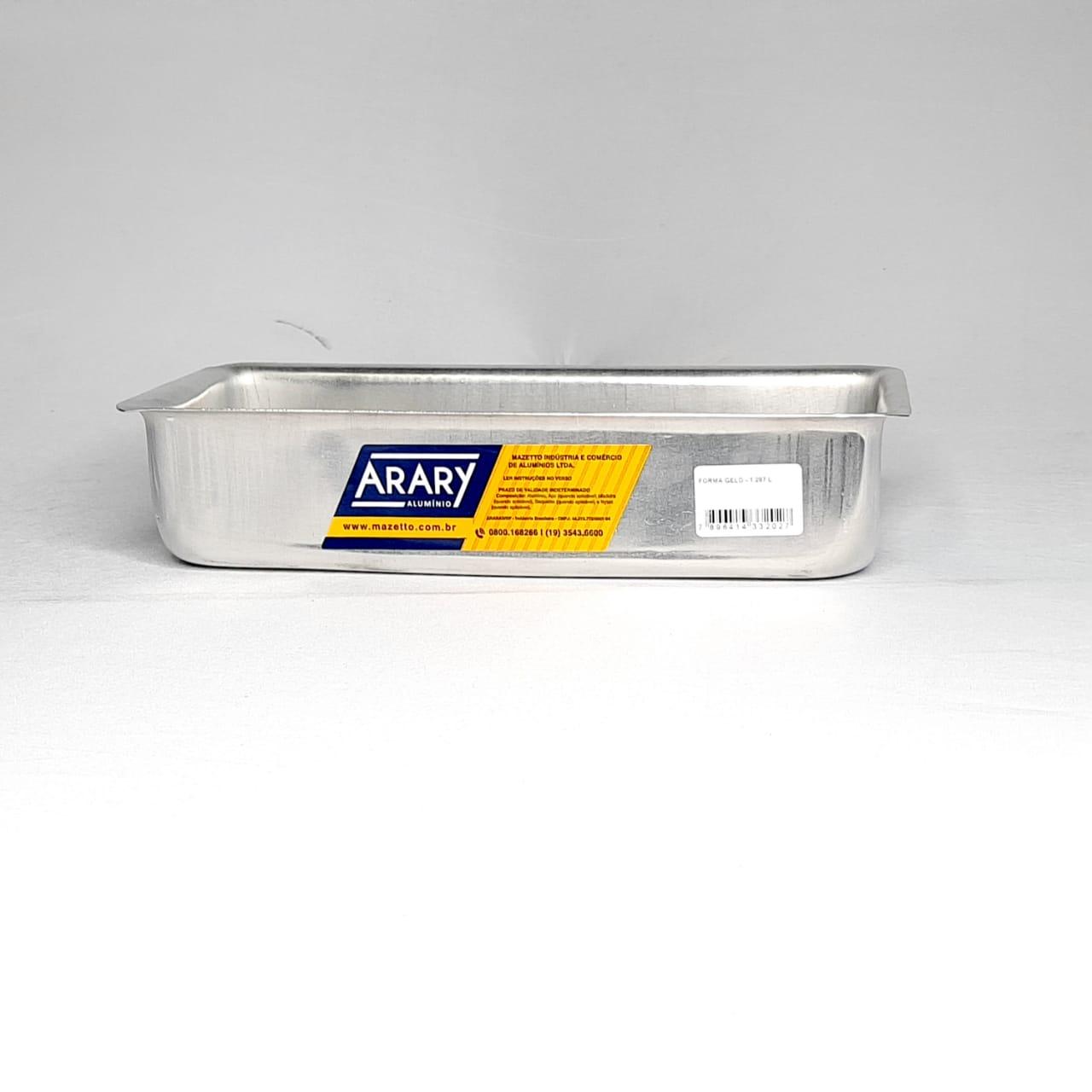 Forma Alumínio PAO 1,287 Litros Arary