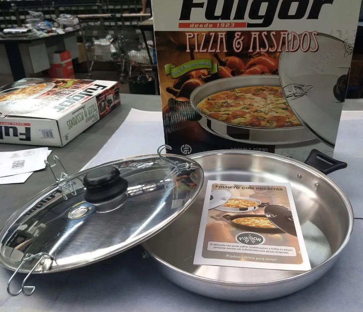 Forma Polida para Pizza e Assados Fulgor original