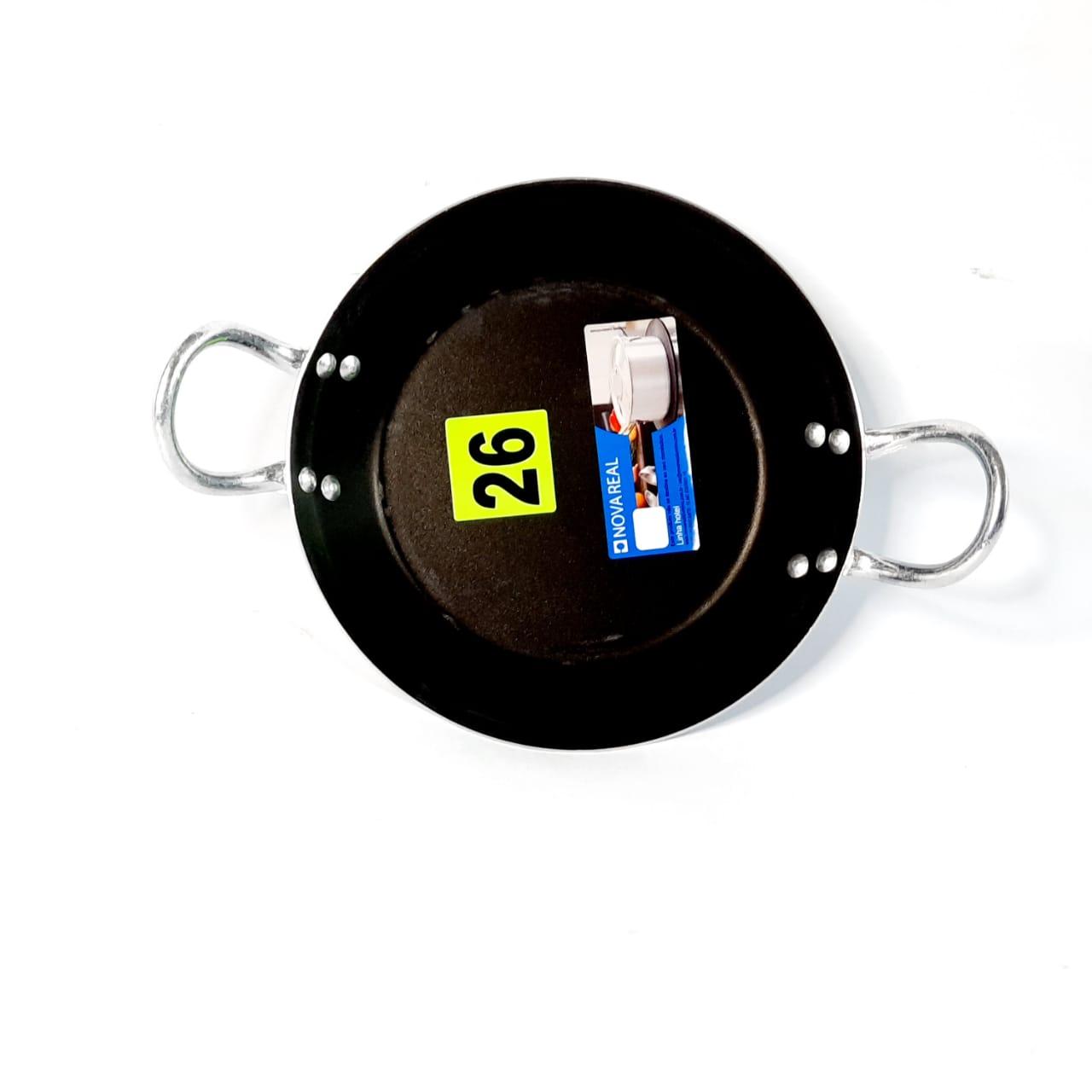 Frigideira Alumínio Antiaderente N 26 C/ASA Real