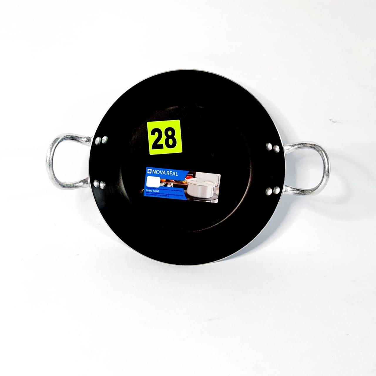 Frigideira Alumínio Antiaderente N 28 C/ASA Real