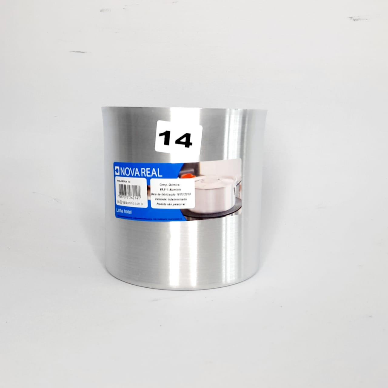 Molheira Alumínio N 14 S/ABA Real