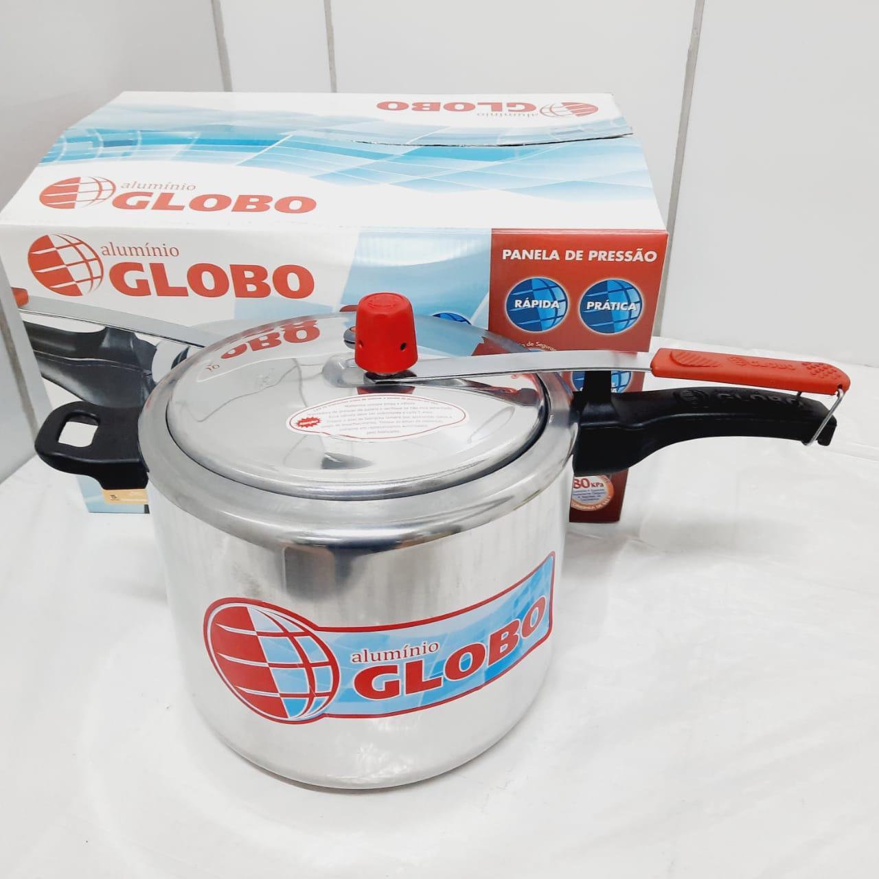 Panela Pressão Globo 7,0 Litros Polida