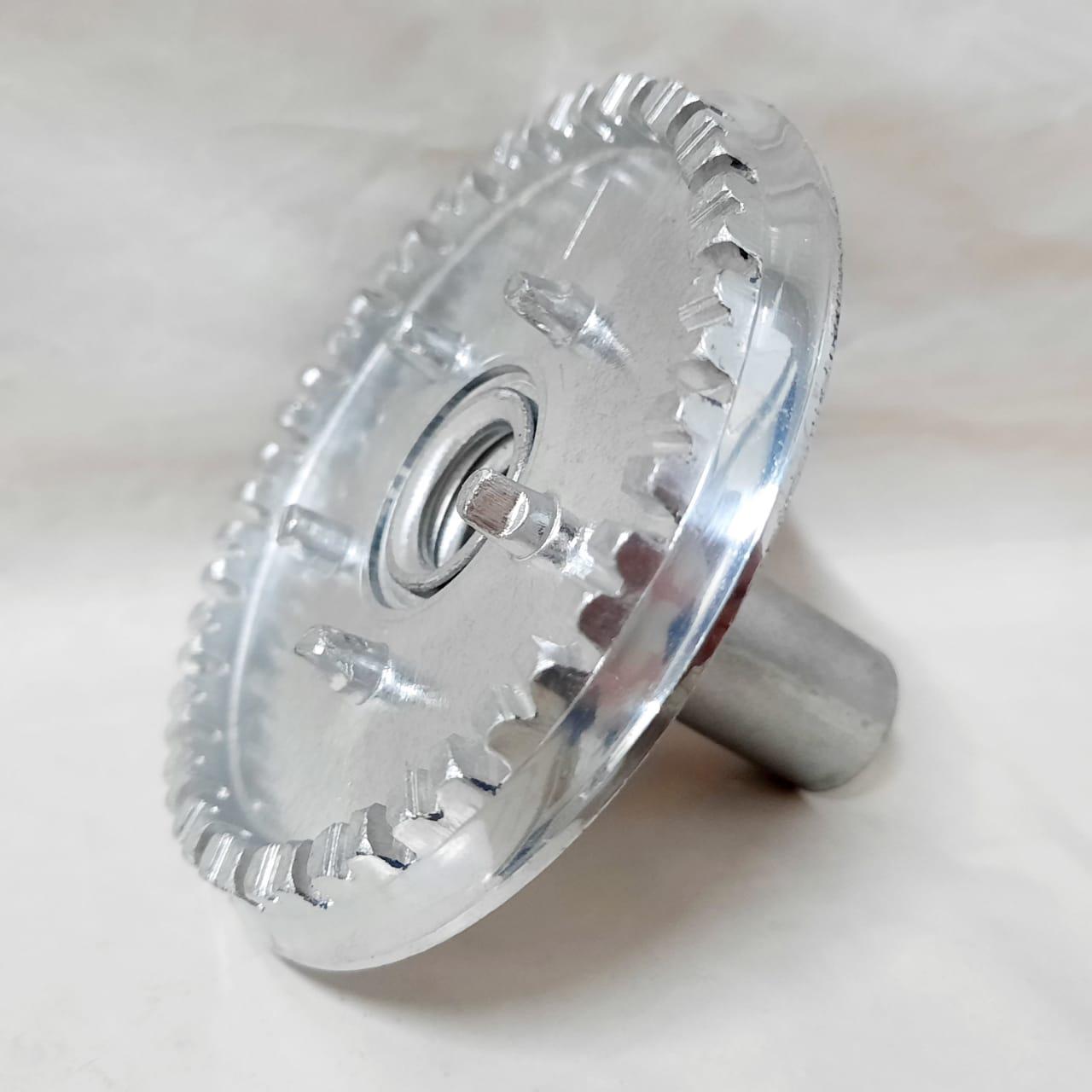 Sorvete Alumínio Dentado Atlas Grande S/F C.Leve