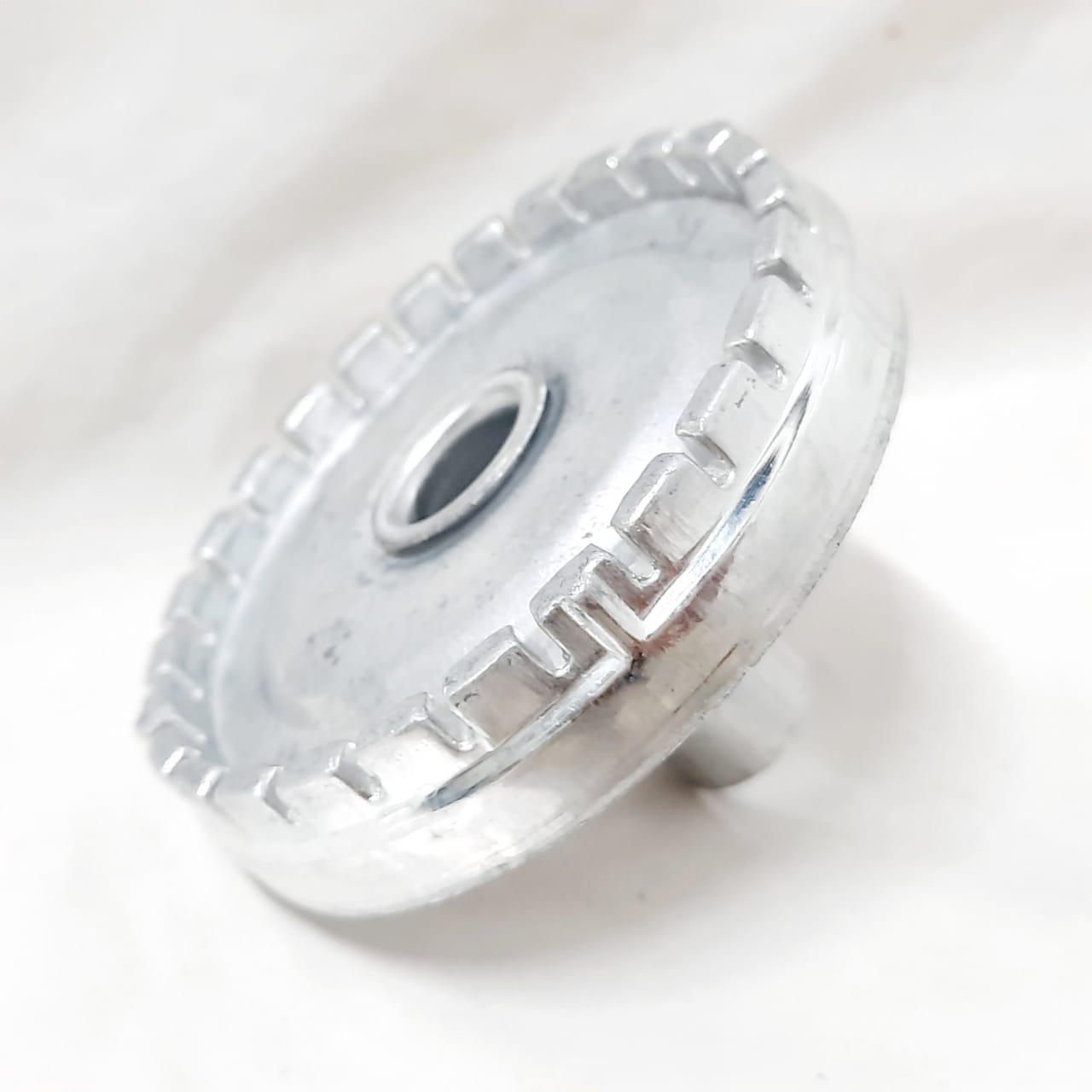 Sorvete Alumínio Dentado Esmaltec Moderno Grande