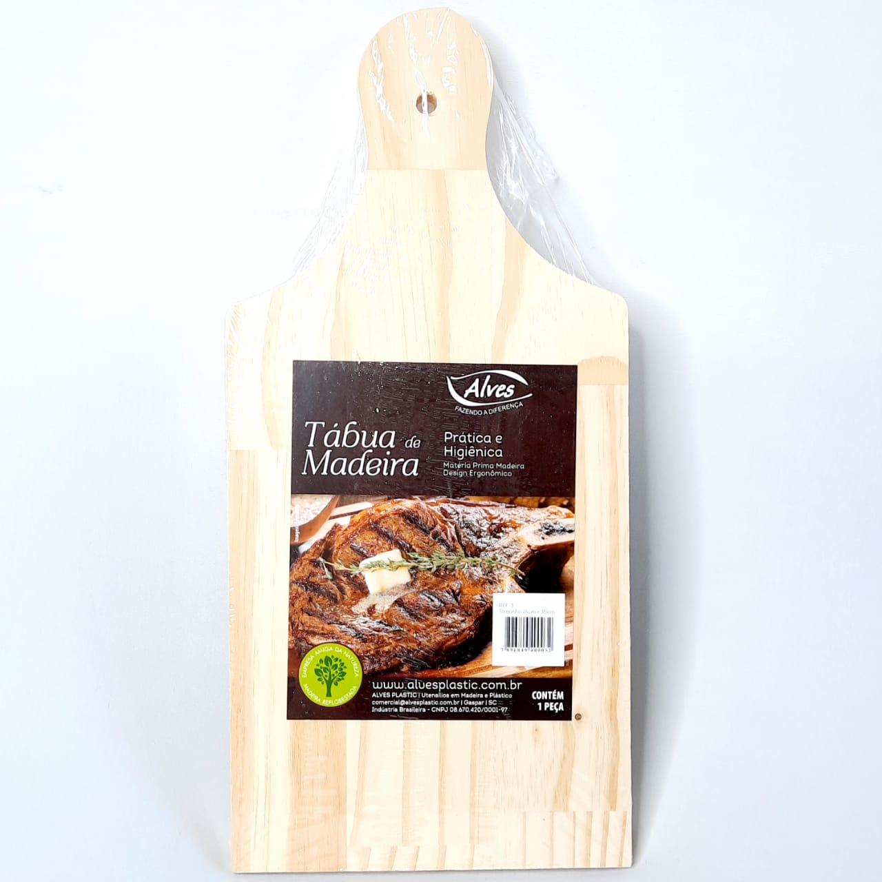 Tábua Madeira P/Carne N 03 Alves