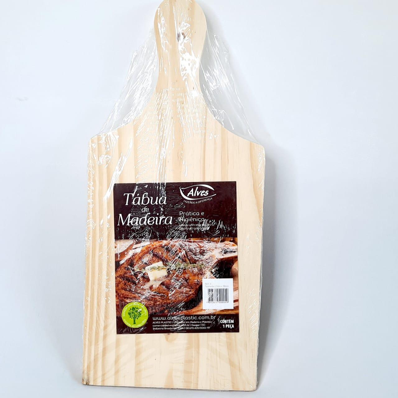 Tábua Madeira P/Carne N 04 Alves