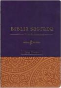 Bíblia Leitura Perfeita com Anotação | NVI - Capa Roxa