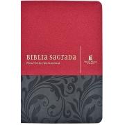 Bíblia Leitura Perfeita com Anotação   NVI - Capa Vermelha