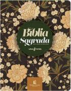 Bíblia | NVI - Leitura Perfeita com Anotação - Capa Flores