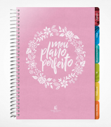 Planner - Meu plano perfeito - Capa Tecido