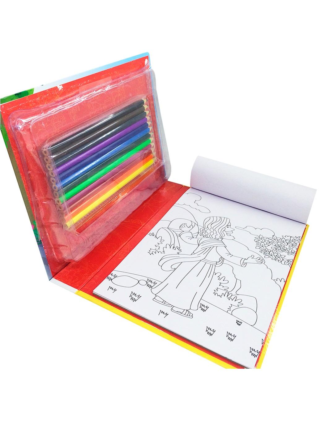 Mega Kit para Colorir - Aventuras Bíblicas
