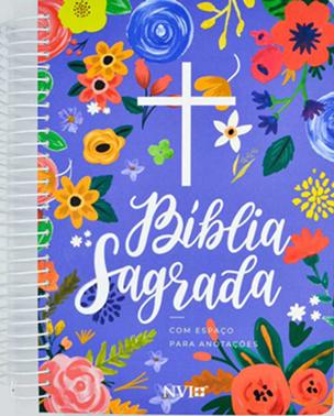 Bíblia Anote | NVI | Capa Céu Azul