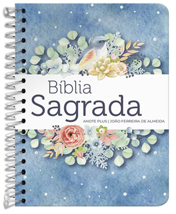 Bíblia Anote Plus | ARC | Capa Pontos de Luz Buquê