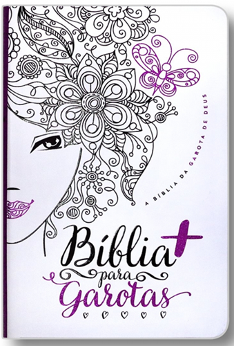 Bíblia da Garota Cristã | NTLH | Capa Glitter