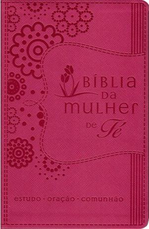 Bíblia da Mulher de Fé | NVI - Capa Rosa