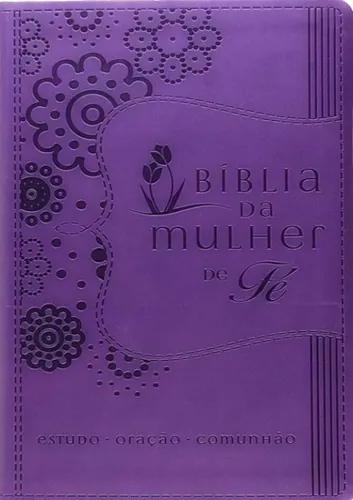 Bíblia da Mulher de Fé | NVI - Capa Roxa