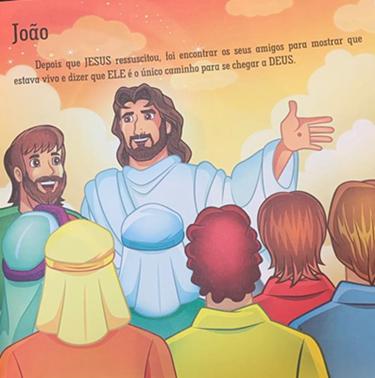 Bíblia Ilustrada Biguinha Personalize