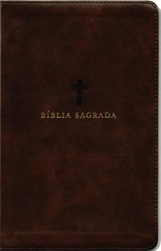 Bíblia Leitura Perfeita | ACF | Capa Couro Soft Marrom