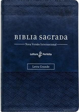 Bíblia Leitura Perfeita com Anotação | NVI - Capa Azul