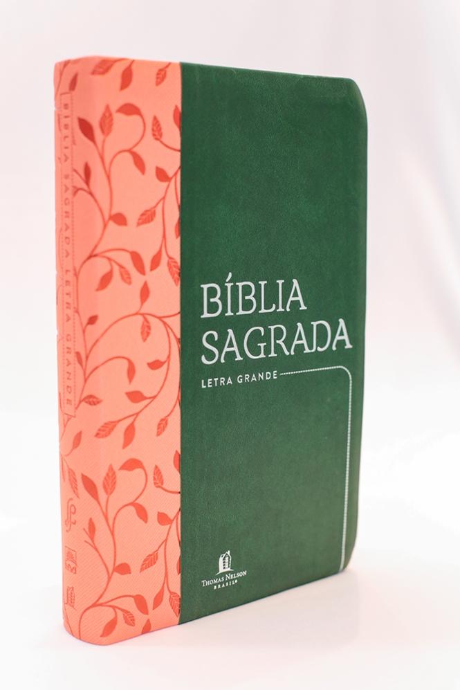 Bíblia Leitura Perfeita | NVI | Capa Couro Soft Verde
