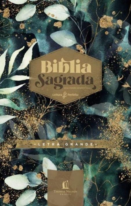 Bíblia Leitura Perfeita   NVI   Capa Dura Jardim Noturno