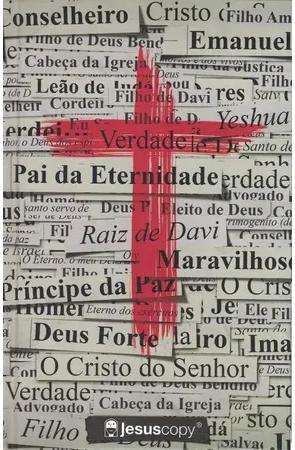 Biblia NVI Cruz com Frases - Jesus Copy