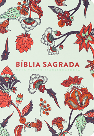 Bíblia   NVT   Indian Flowers Branca