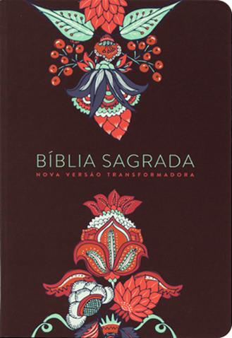 Bíblia | NVT | Indian Flowers Vinho
