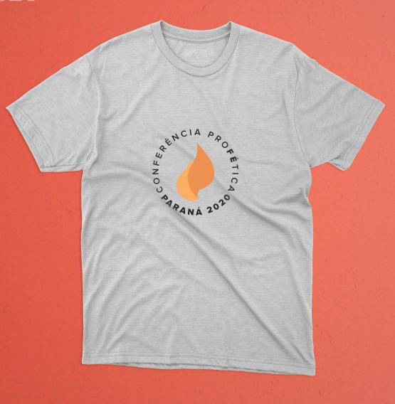 Camiseta Conferencia Profética Paraná Branca