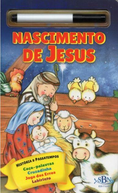 Escreva e Apague - Nascimento de Jesus