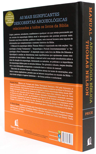 Manual de arqueologia bíblica Thomas Nelson - Randall Price | H. Wayne House