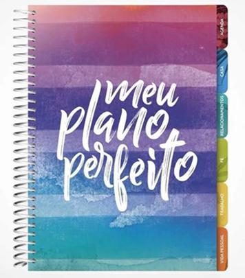 Planner - Meu plano perfeito - Capa Cores