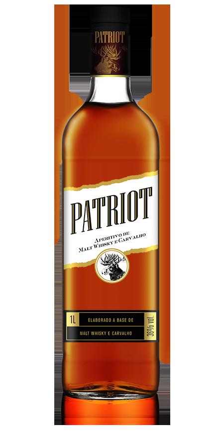 Aperitivo Malt Whisky e Carvalho Patriot 1L