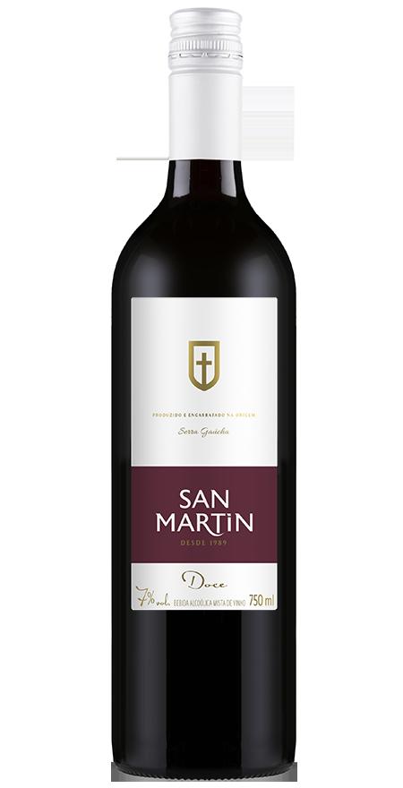 Bebida Alcoólica Mista de Vinho San Martin 750ml