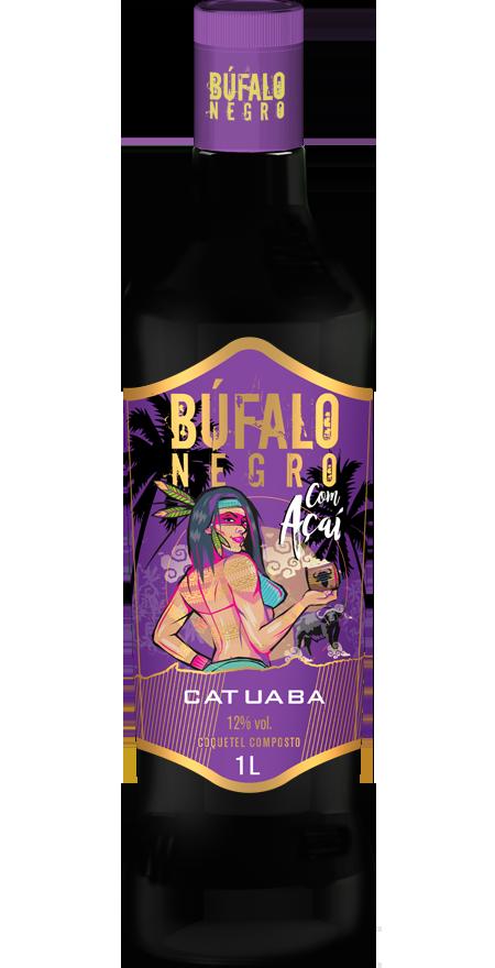 Catuaba Açaí Búfalo Negro 1L