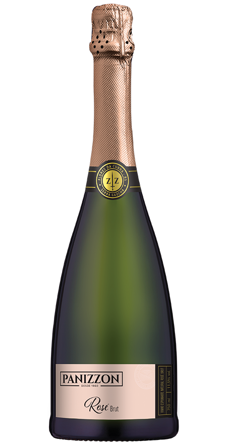 Espumante Nature Rosé Brut Panizzon 750ml
