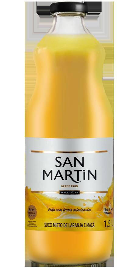 Suco Misto Laranja e Maçã San Martin 1,5L