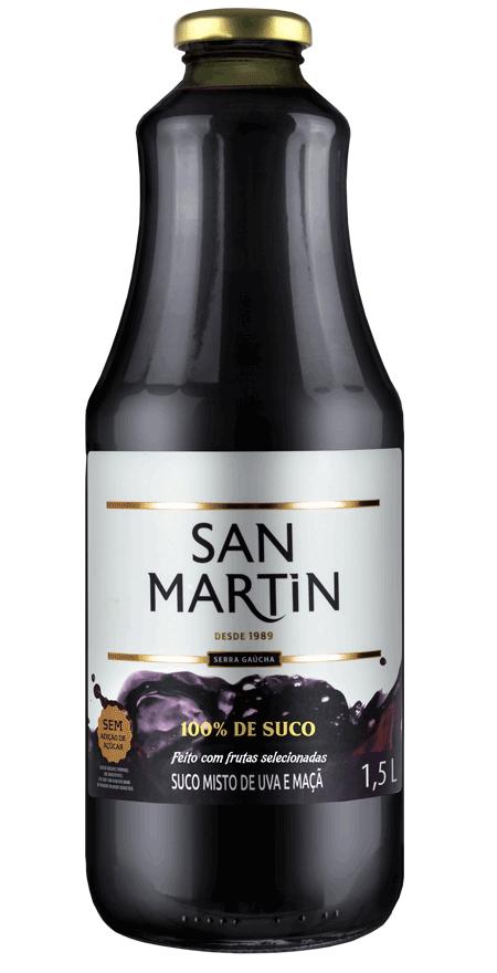 Suco Misto Uva e Maçã San Martin 1,5L