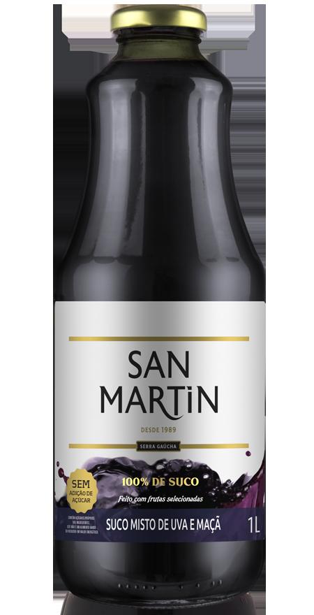 Suco Misto Uva e Maçã San Martin 1L