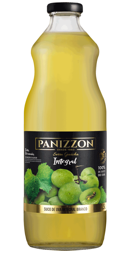 Suco Uva Branco Integral Panizzon 1,5L