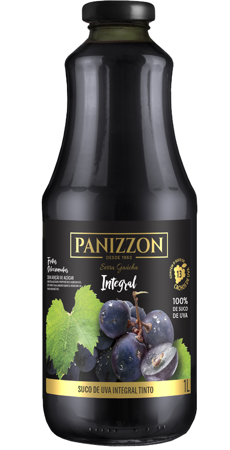 Suco Uva Tinto Integral Panizzon 1L