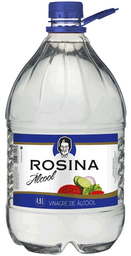 Vinagre Álcool Rosina 4,9L