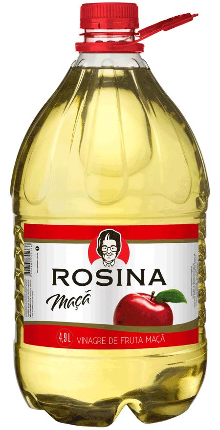 2 unidades Vinagre Maçã Rosina 4,9L