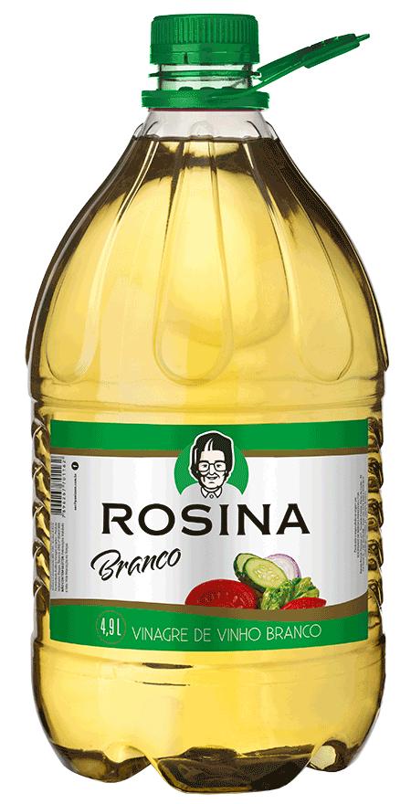 2 unidades Vinagre Vinho Branco Rosina 4,9L
